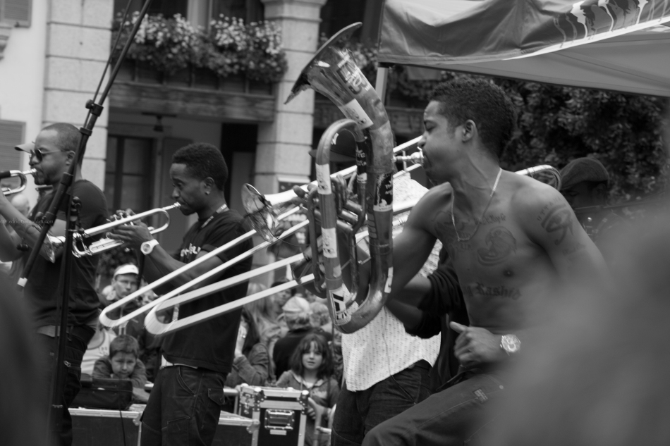 HYPNOTIC BRASS ENSEMBLE from Chicago
