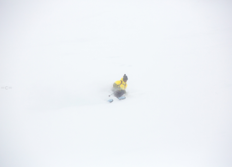 david rosenbarger , cosmique , chamonix, powder