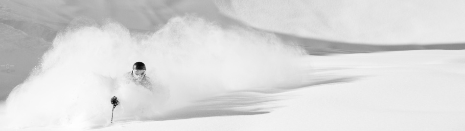 Andreas franson, chamonix, powder, aiguille du midi