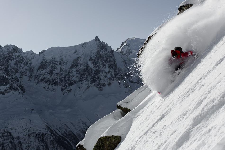 chad sayers, aiguille du midi, mont blanc