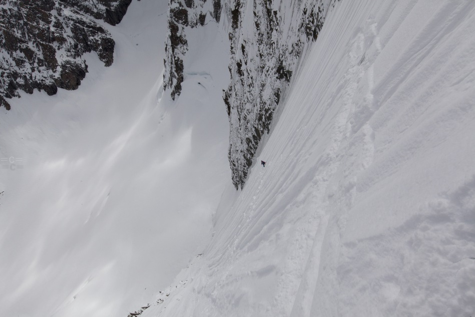 "col des courtes, chamonix.michael ""bird"" shaffer, steep skiing"