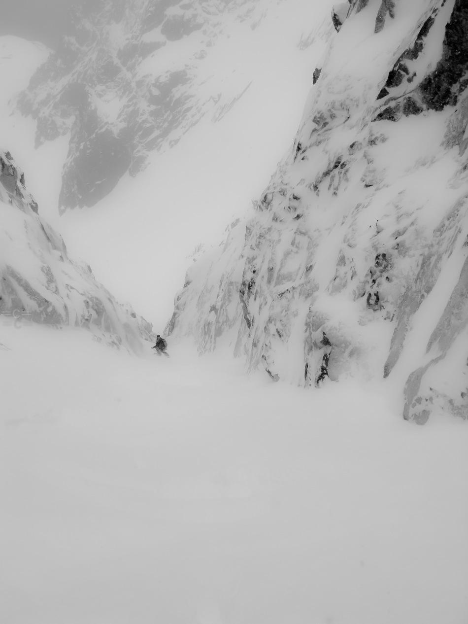 col du plan, north face, david rosenbarger, aiguille du midi, mont blanc