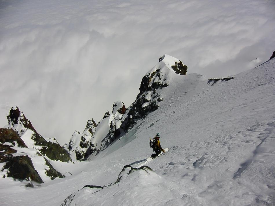 luca pandolfi, monviso ski