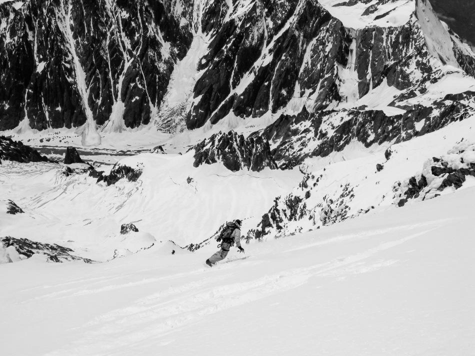mont blanc west face, luca pandolfi