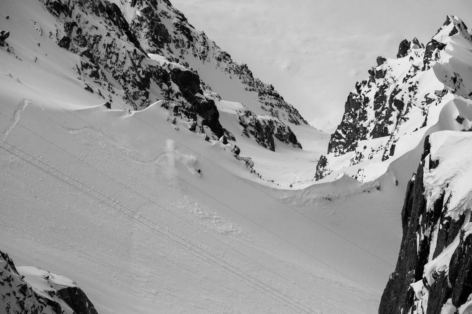 glacier rond, nathan wallace, chamonix