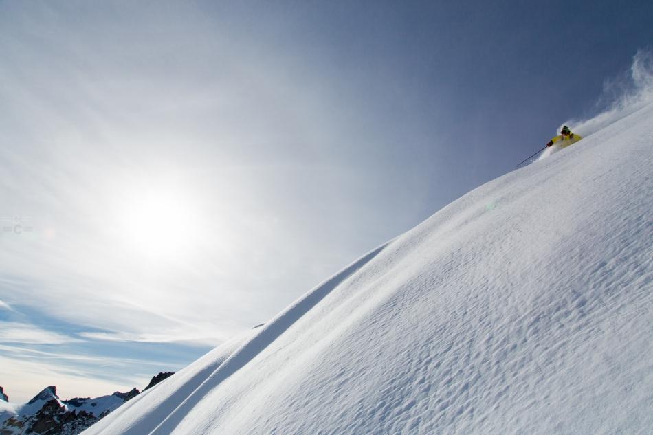 david rosenbarger, andreas fransson, aiguille du midi, chamonix mont blanc