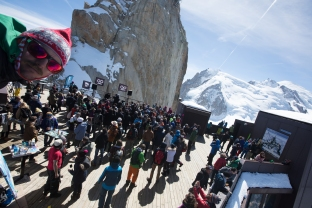 unlimited festival, black crows , chamonix, aiguille du midi