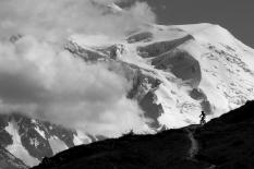 bike and mont blanc